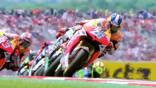 <p>'Hitting the Apex'</p><p>narrated by Brad Pitt</p><p>MotoGP feature documentary</p>  <p>Directed by Mark Neale</p>  <p>Edited by Jerry Chater, Mark Neale and Bruce Ashley</p>  <p> </p>